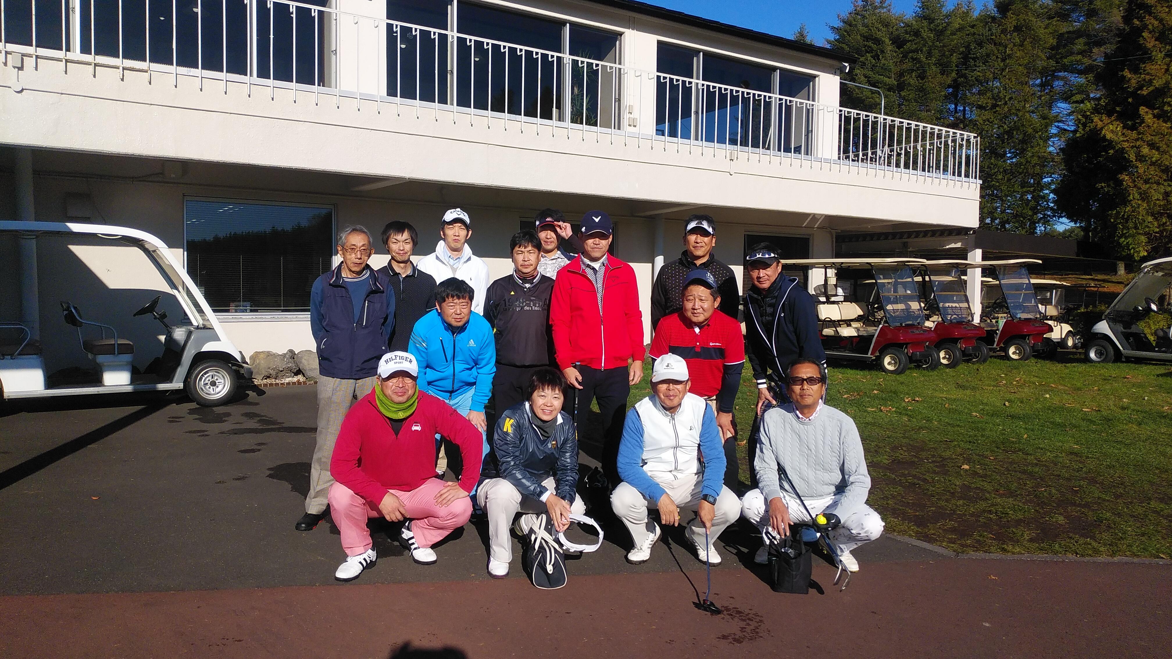 20周年ゴルフコンペを開催しました。