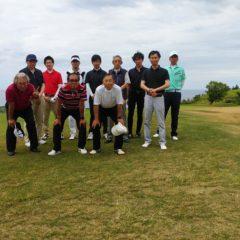 増毛ゴルフ俱楽部でゴルフ合宿を行いました。