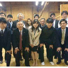 紅桜公園にて懇親会を行いました。