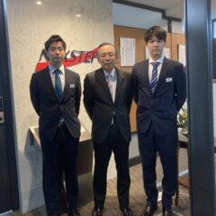 当社に新入社員が入社しました。